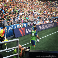 Photography: View from the Red Zone - Match Day Seattle Sounders vs DC United (4-3).
