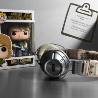 Photography: Kurt Cobain Funko Pop.