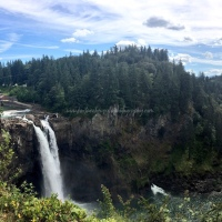 Photography: Snoqualmie Falls.